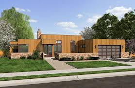 Home Plans   a Great Indoor Outdoor ConnectionModern Ranch House Plan A   The Queensbury