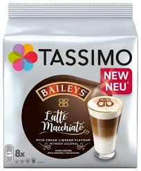 <b>Кофе</b> в капсулах <b>Tassimo</b> Baileys Latte Macchiato (8 капс ...