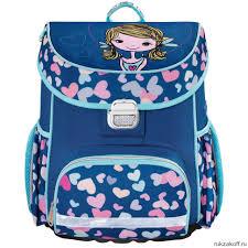 Ранец <b>Hama Lovely Girl</b> (<b>синий</b>/голубой) купить по цене 2 700 руб ...