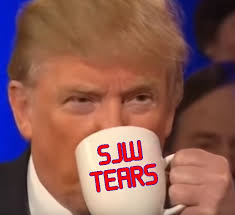 Image result for drinking sjw tears