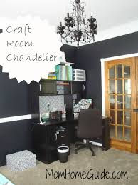 dining room turned black and white craft room craft rooms home decor the awesome craft room
