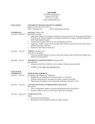 resume format for information technology students resume format 2017 resume
