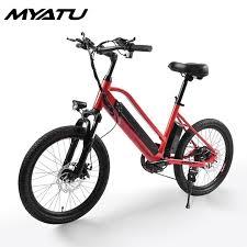 <b>MYATU Electric</b> Bicycle Bike two Wheel <b>Electric</b> Scooters 20 inch ...