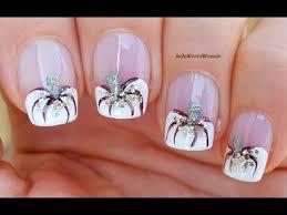 FRENCH MANICURE IDEAS #8 / <b>Elegant White</b> Pumpkin Nail Tips ...