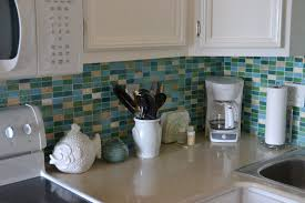 kitchen cabinets beach blue baseboards i love this backsplash its made up of different colors of iridescent g