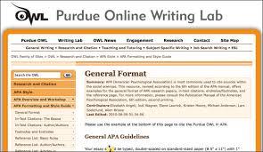 Purdue owl apa literature review sample Pin Source Apa References Sample Purdue Owl On Pinterest