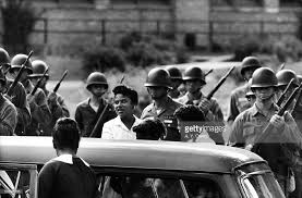 「On September 25, 1957, Central High School in Little Rock, Arkansas」の画像検索結果