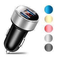 QC 3,0 5 V/<b>3.1A двойной USB</b> Автомобильное зарядное ...