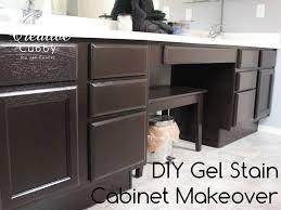gel stain kitchen cabinets: diy gel stain cabinet makeover gelstaincabinetmakeovertitle diy gel stain cabinet makeover