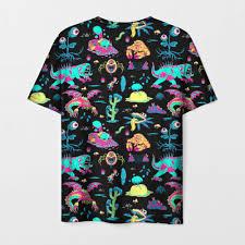 Monsters <b>Rick</b> and Morty Мужская <b>футболка</b> 3D с <b>принтом</b> за 1175 ...