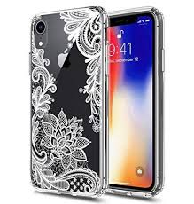Iphone-XR-Case-10-Ten-R-<b>TPU</b>-Grip-Bumper-amp-Clear-Flower ...