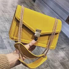 Lock Flip bag <b>2019 Summer</b> Fashion New <b>High Quality</b> PU Leather ...