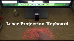 <b>Bluetooth Laser</b> Projection <b>Virtual Keyboard</b> Review - YouTube