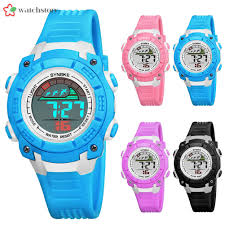 〖ws  〗<b>SYNOKE</b> Kids <b>Student</b> Sport <b>Watch</b> LED Digital Alarm Date ...