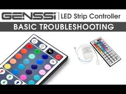 GENSSI <b>RGB LED</b> Strip with 44 Key IR <b>Remote Control</b> Guide ...