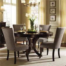Tufted Dining Room Sets Dining Room Excellent Modern Dining Space With Oval Wall Mirror