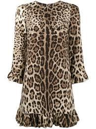 Dolce & Gabbana <b>платье</b> с леопардовым <b>принтом</b> в 2019 г ...