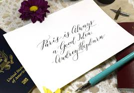 How to Use a <b>Dip Pen</b> to Create Modern <b>Calligraphy</b>