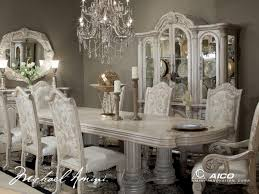 Silver Dining Room Set Silver Dining Room Sets Well Creative Of Silver Dining Table And