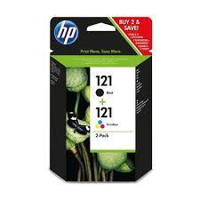 Набор <b>картриджей HP</b> 121/121 <b>CN637HE</b> черный и цветной ...