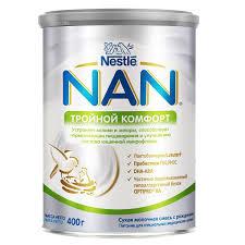 Сухая <b>молочная смесь NAN</b> 1 с 0 мес, 800г: с бесплатной ...