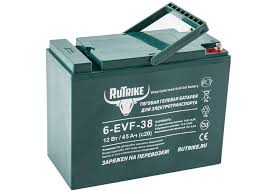 Свинцово-кислотный <b>тяговый гелевый аккумулятор RuTrike</b> 6 ...