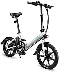 <b>FIIDO D3s Folding Electric Bicycle</b>, Aluminum 16 Inch Electric Bike ...