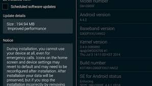 Manual Update Guide for Samsung Galaxy S5 G900F to Android 4.4 ...