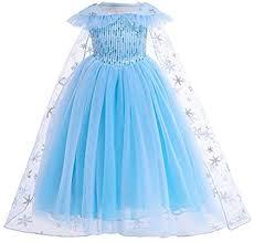 Princess <b>Fancy Dress Costume</b> for Girls Snow Queen <b>Costume</b> ...