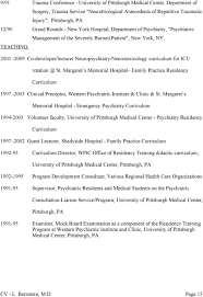 lawson f bernstein jr m d professional experience consultant 2003 2009 co developer lecturer neuropsychiatry neurotoxicology curriculum for icu rotation