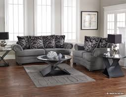 living room sofa ideas: chic light grey sofa living room