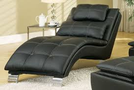 design ideas white living room comfortable leather black leather modern chaise lounge for the living room