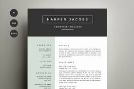2 page resume photos graphics fonts themes templates resume template 4 pack