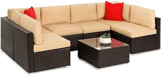 Best Choice Products 7-Piece Modular Outdoor ... - Amazon.com