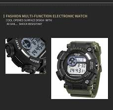 <b>SMAEL Digital Wristwatches Luxury</b> Brand Army Watches ...