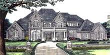 Luxury Home Plans   Luxury House Designs and Floor Plans at    ORDER this house plan  Click on Picture for Complete Info