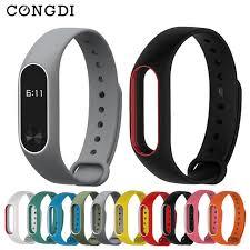 Ремешок Congdi <b>Mi</b> Band 2, <b>силиконовый</b> цветной спортивный ...