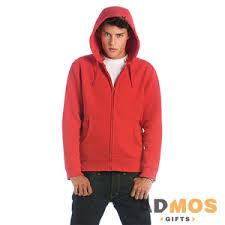 <b>Толстовка мужская</b> на молнии <b>Hooded Full</b> Zip/men красный S ...