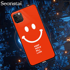 Seonstai <b>Smart Led Glow</b> Phone Case For iPhone XS MAX Cover ...