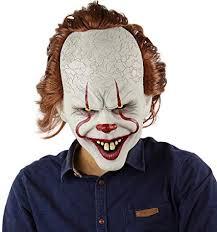 Clown Mask <b>Halloween Horror Masks Cosplay</b> Stephen King's It ...