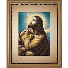 Cross Stitch <b>Kit</b> God Lord Jesus <b>Luca</b>-<b>S</b> Point de croix Punto de cruz ...