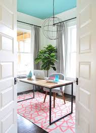 need some feminine and fabulous home office inspiration take a look at these inspiring home blue office decor