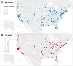 smartphone based geofencing to ascertain hospitalizations figure