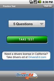 Drivers Ed North Carolina  screenshot Google Play