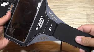 Спортивный <b>чехол на руку</b> для телефона FLOVEME - YouTube