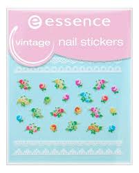 Купить <b>наклейки для ногтей vintage</b> nail stickers no17 essence в ...