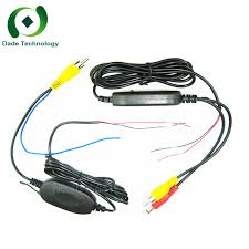 2.4G Wireless Transmitter/Receiver for <b>Car Reverse Rear View</b> ...