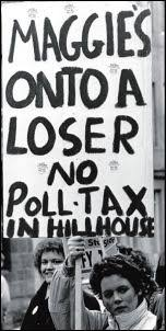 Image result for poll tax banner
