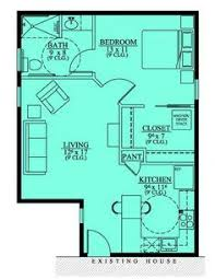 ideas about In Law Suite on Pinterest   House plans  Floor        Handicap Accessible Mother in law Suite   House Plans  Floor Plans