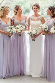 Chicloth <b>Elegant Spaghetti Straps Chiffon</b> Bridesmaid Dresses ...